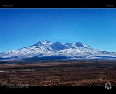 Ice Maiden (tomraven) Tags: ruapehu volcano snow snowcapped mountain ice newzealand tomraven bluesky aravenimage q32016 pentax k20d