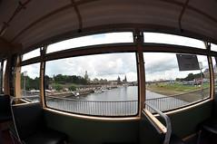Stadtrundfahrt durch Dresden (3x105Na) Tags: lowa et54 153813611362 strasenbahnmuseum dresden ev strasenbahnmuseumdresden stadtrundfahrt stadtfest sachsen saksonia drezno deutschland germany niemcy tram tramwaj strassenbahn