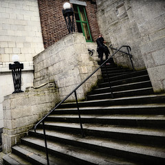 Around the corner (JEFF CARR IMAGES) Tags: northwestengland greatermanchester cheshire wideangle