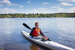 Mlarpaddling (Sigtuna_Nym) Tags: sea people landscape se spring sweden wildlife boating mlaren sigtuna stockholmsln cajak