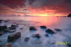 Encore (lantaw.com) Tags: sunset sea beach coastal tuka 2015 sarangani kiamba tukamarinepark