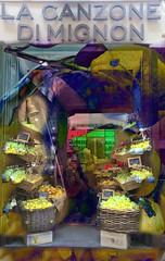 """Do you know the country where lemon trees bloom"" (jjamv) Tags: italy campania lemons microsoft sorrento cosmetics shopfront holidaysvacanzeurlaub cosmeticsshop jwvongoethe jjamv julesvtravel picmonkey shopfrontschallenge lumia930 microsoftlumia930 lacanzonedimignon"