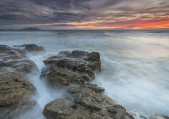 'Swelling Seas at Swtan' - Anglesey