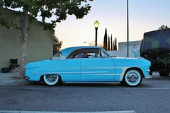 Cruisin' Grand 8/1/14 (USautos98) Tags: ford hotrod custom 1950 streetrod kustom scalloppaint