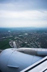 Wie kommt man am schnellsten nach Dresden? (MadCyborg) Tags: dresden fuji tsf sachsen airbus fujifilm flugzeug 147 elbe luftbild a319 x100 elbflorenz gwi2026 4u2026 elbbottrop