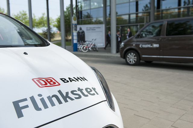 Deutsche Bahn's carsharing operation Flinkster