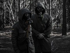 Dystopia (theimmortalsoul) Tags: cold west history war mask ukraine gas jacket alpine german soviet russian coldwar gp5