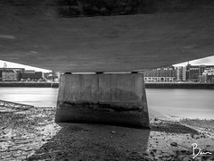 Under the Bridge (brianlavelle85) Tags: longexposure blackandwhite landscape limerick limerickcity shannonbridge brianlavelle 10stop nd1000