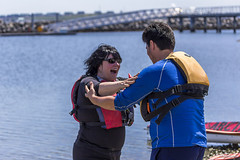 Small 800px Antonio and Margo at Break Free PNW 2016 Photo taken by John Duffy  27100274785_9fbb7b0936_c (Backbone Campaign) Tags: water justice washington energy kayak break action politics protest creative paddle shell free social demonstration oil change wa environment activism anacortes campaign pnw refinery climatechange climate tesoro artful backbone renewable refineries 2016 kayaktivist kayaktivism breakfreepnw