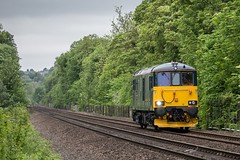 73970.Warmsworth South Yorks (deltic17) Tags: trees ed countryside loco locomotive sleeper caledonian doncaster southyorkshire lightengine class73 gbrf 73970