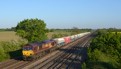 66004 6M86 ely potter sidings to peak forest passing cossington (I.Wright Photography over 2 million views thanks) Tags: forest potter peak ely passing hoas sidings cossington 66004 6m86