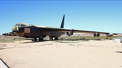 Unrequited BUFF (planephotoman) Tags: lost display edwardsafb buff unwanted boeing stripped stranded b52 stratofortress b52d beingrestored 7bw peaseafb 60585 560585 afftmuseum museumairpark almostscrapped