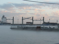 IMG_2893 (halffullpl) Tags: water ferry boats mississippiriver waterway barges pattylebedhessphotos