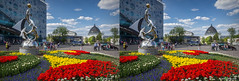 VDNKh, Moscow (urix5) Tags: park flowers architecture aquarium stereoscopic 3d spring crosseyed bright russia moscow stereo soviet stereopair ru moskva vdnkh crossview moskvarium