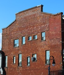 Ghost Sign (jmaxtours) Tags: ontario sign stcatharines bags trunks ghostsign sportinggoods stcatharinesontario trunksbags woodbros leathernovelties
