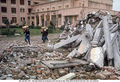 5572689 (ngao5) Tags: plant bicycle out ruins vietnamese near politics north vietnam viet revolution militia hanoi bombed crates carrying cong timeincnotown 5572689