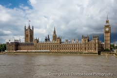Big Ben & Westminster Palace (Thomas Naas Photography) Tags: city uk travel england london westminster river big reisen ben britain great palace stadt fluss gebude themse grossbritannien