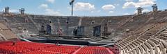 Verona 01 - Arena di Verona - Aufbau der Opernbhne (ho4587@ymail.com) Tags: italien urlaub arena verona oper bhne tamronsp2470mmf28divcusd