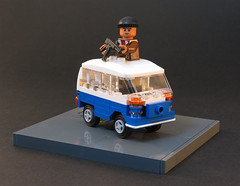It's the Libyans! (Grantmasters) Tags: back lego future van combi moc libyans microfighter