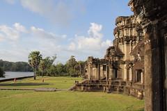 Angkor Wat. External wall, seen from ouside