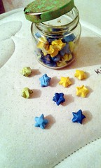 Jams quiero perderte. (Deer in the wind ) Tags: she love japan lesbian stars japanese couple origami loveislove