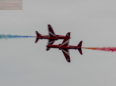 Kriss cross (the tamron tog) Tags: uk colors canon mare display hawk aircraft super airshow redarrows raf t1 weston aerobatic tamronsp150600mm