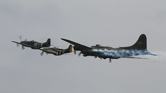Duxford May2016_SallyB_08 (andys1616) Tags: boeing b17 flyingfortress sallyb memphisbelle 124485 gbedf usaf americanairshow duxford cambridgeshire may 2016 northamerican p51d mustang theshark gshwn norwegianspitfirefoundation tf51 missvelma 4484847 n251rj thefightercollection