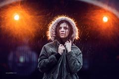 Rainy Evening. (www.sergeybidun.com) Tags: portrait woman cold girl rain night model photoshoot