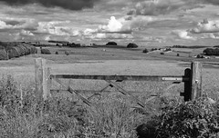 Gate (l4ts) Tags: barn landscape blackwhite gate derbyshire peakdistrict meadows farmland sheldon whitepeak haymeadows hardrake britnatparks