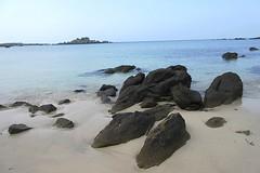 Chausey- La grande plage (valdeloire1) Tags: sable normandie plage rochers le