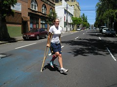 jeck05 (cb_777a) Tags: usa broken foot toes leg australia cast crutches ankle