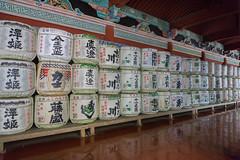 Wall of sake barrells (marina1305) Tags: japan sony april nikko toshogushrine tochigi 2016 a6000 epz1650mmf3556oss ilce6000