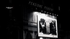 Pitti Uomo a Firenze (Tra Te E Me (TTEM)) Tags: lumixfz1000 photoshop black white noir blanc nuit night affiche mode pittiuomo firenze florence homme reverbre light toscane tuscany italie italy raw