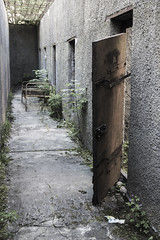 Released (Thomas Rotte) Tags: door abandoned broken concrete outside europe tallinn estonia break open air cell baltic wear prison worn eastern baltics airing sovjet patarei merekindlus