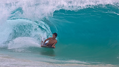 who's watching me ? (bluewavechris) Tags: ocean sea summer water youth fun hawaii surf ride wave maui foam swell pound makena shorebreak bigbeach ation oneloa