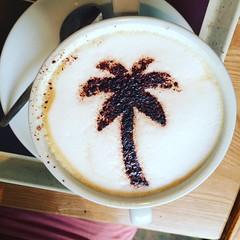 Costa coffee palm tree (Elysia in Wonderland) Tags: costa tree coffee chocolate palm sprinkles cappuccino