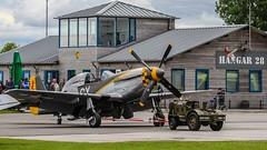 Oostwold Airshow (rudyvandeleemput) Tags: vintage aviation military hurricane airshow corsair spitfire mustang oldskool hawker 2015 luchtmacht militair luchtvaart oostwold