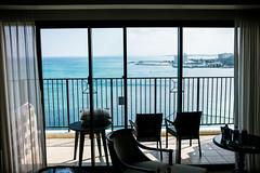 Very nice weather !!!! but say goodbye lu... (Steve Wan^_______________,^) Tags: travel love beach japan hotel monterey tiger daughter journey join wife fujifilm okinawa  x100t