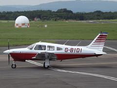 G-BIDI Piper Cherokee Arrow III (Aircaft @ Gloucestershire Airport By James) Tags: james airport iii gloucestershire arrow cherokee piper lloyds egbj gbidi