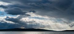 Come sail away (marcusholmqvist) Tags: summer cloud weather clouds sailing cloudy sweden beam sail sverige rays sunrays dalarna cloudscape vder sunbeams sommar segelbt ludvika moln sailingboat piren solstrlar segla vsman