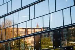 UB Uni Freiburg (katrinalbaum) Tags: reflection library freiburg spiegelung universitylibrary kgii universityoffreiburg unifreiburg kollegiengebudeii universittfreiburg