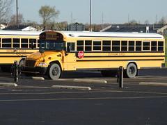 South Adams Schools (Nedlit983) Tags: blue school bus bird vision