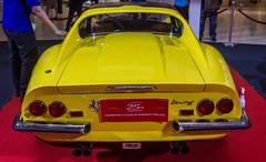 IMG_1043.jpg (Saad Faruque) Tags: 1969 yellow bangkok ferrari 25thanniversary centralworld dino246gt