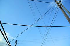 cielo (enrico sprea) Tags: street sky asia strada cable cielo armenia pali crossroads yerevan telefono azzurro fili elettricità tralicci linee incrocio allaperto asiaminore lineaelettrica erevan pentaxlife երեան հայաստանի hayastani 7thstaarmenakyanst cavodeltelefono