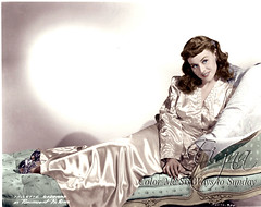 Paulette Goddard (Color Me Six Ways to Sunday) Tags: colorized colorization recolored paulettegoddard classichollywoodactress