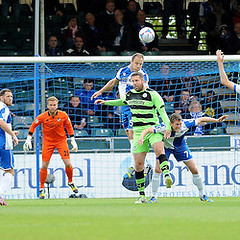 """Bristol Rovers v Forest Green Rovers 030515 • <a style=""""font-size:0.8em;"""" href=""""http://www.flickr.com/photos/125622569@N04/17363034686/"""" target=""""_blank"""">View on Flickr</a>"""