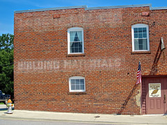 Ghost Sign, South Hill, VA (Robby Virus) Tags: life building brick sign wall museum virginia farm ghost tobacco materials southhill