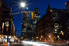 For those who are lost, there are always cities that will feel like home. (zuzartemarc) Tags: city toronto tower club cn hotel iron downtown cntower flat continental convertible strip gt six rom flatiron cnt tdot cgt gooderham hogtown 416 bentey flimores