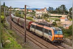 SNCF 26215, Bourg-Saint-Andéol 15.10.2014 (VTZK) Tags: france train zug fret trein sncf güterzug rhonealpes sybic 26000 goederentrein marchandises bourgsaintandéol