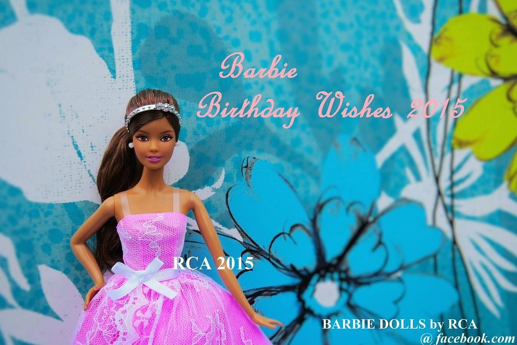 Barbie Birthday Wishes 2015 Latina Dolls By RCA Tags